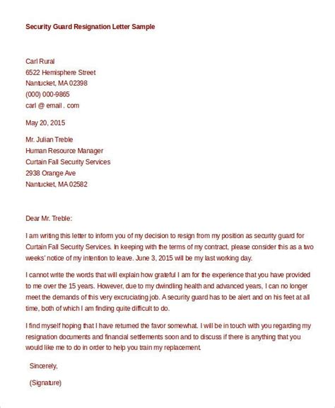 Cover letter security officer sample