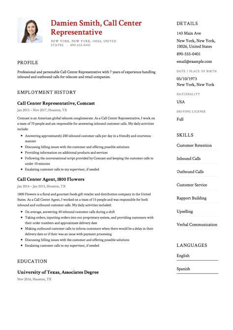 Call Center Agent Resume Samples Cheap Dissertation Proposal