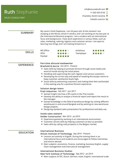 Sample Resume Software Consultant | Cover Letter For ...