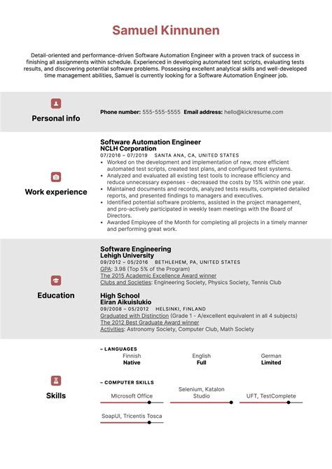 Plc Programmer Resume Examples Sample Template Java Ncqik Limdns Org Free Cover Letters