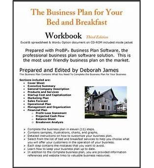 Sample Business Plan Bed Breakfast