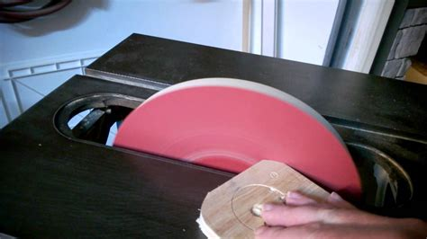 Sanding disk attachment for table saw Image