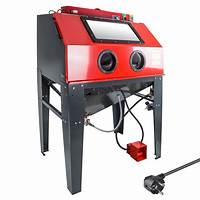 Sandstrahlanlage, sandstrahler technik instruction
