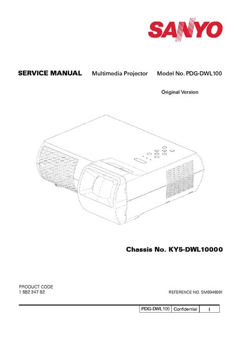 sanyo pdg dwl100 pdf manual