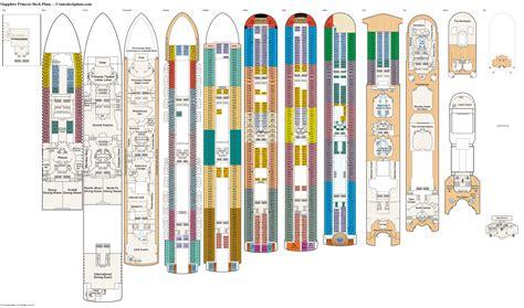 Sapphire princess deck plan Image