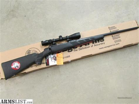 Savage 11 111 Trophy Hunter Xp Rifle With Scope Combo