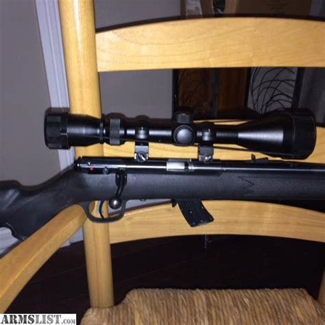 Savage 22 Bolt Action Rifle Internal Suppersor