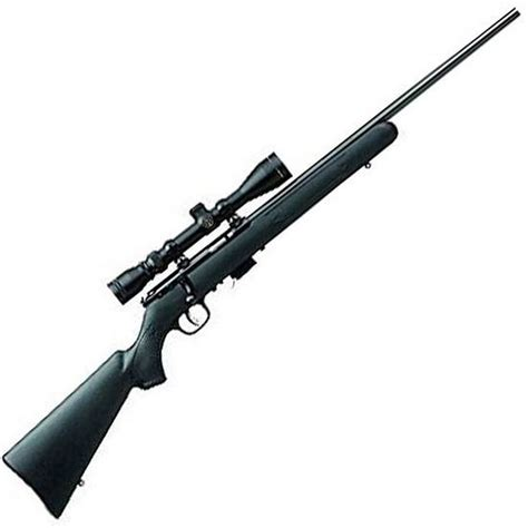 Savage 93r17 Fxp Bolt Action Rimfire Rifle Scope Combo