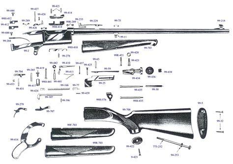 Savage 99 Gun Parts Guide To Vintage Gun Parts