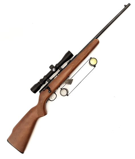 Savage Arms Mark Ii 22 Lr Boltaction Rifle Wood Stock