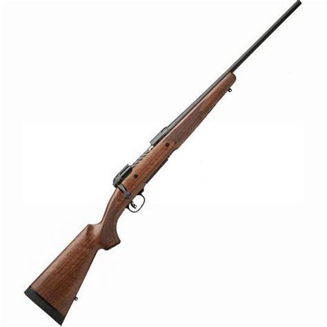 Savage Bolt Rifles With Walnut Stocks