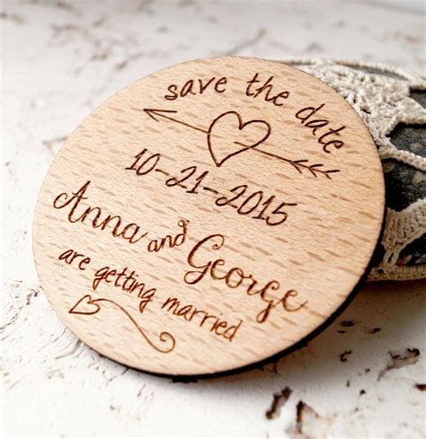 save the date wooden magnets.aspx Image