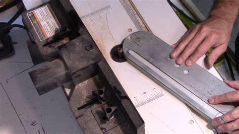 Saw zero clearance insert craftsman 100 Image