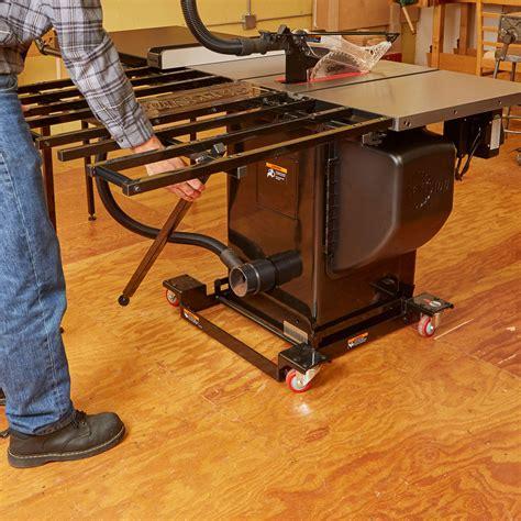 sawstop industrial mobile base Image