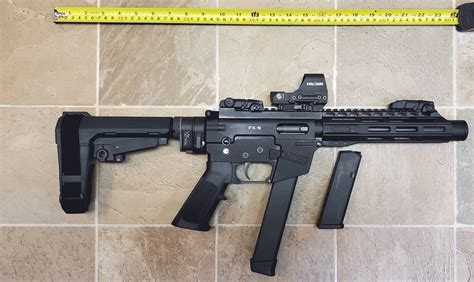 Sba3 Brace With Law Tactical