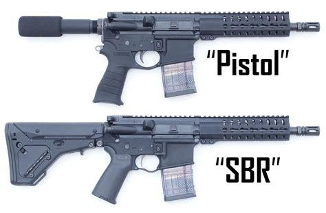 Sbr Rifle Barrel Length