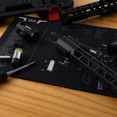 Scar 17 Gun Cleaning Mat