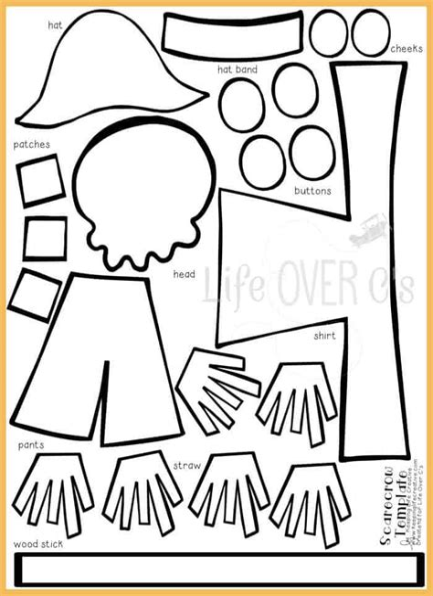 Scarecrow Craft Template CV Templates Download Free CV Templates [optimizareseo.online]