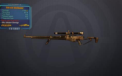 Scavanger Sniper Rifle Borderlands Glitch