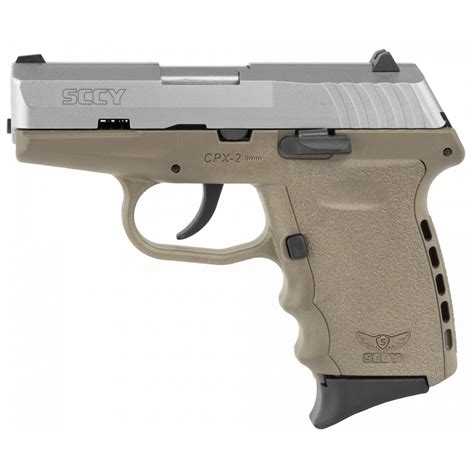 SCCY CPX-1 TTPU 9MM SS PURPLE DOUBLE SIDED SAF For Sale