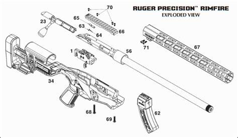 Schematic Ruger Precision Rifle Rimfire
