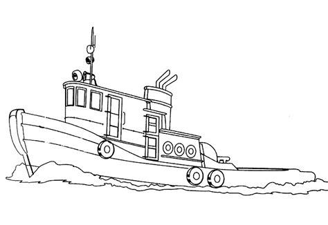 Schiff Malvorlage