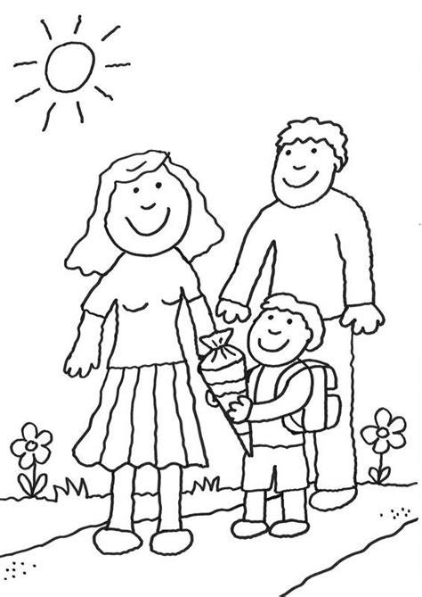 Schule Und Familie Ausmalbilder Kostenlos