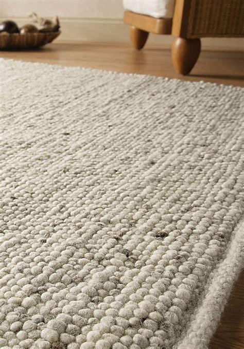Schurwolle Teppich