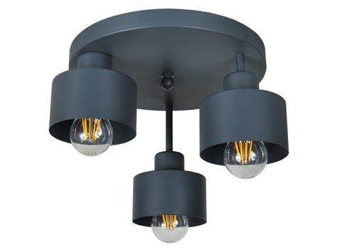 Schwarze Deckenlampe