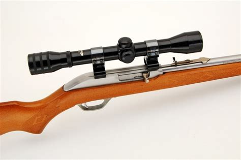 Rifle-Scopes Scope For Marlin 22 Long Rifle Model 60.