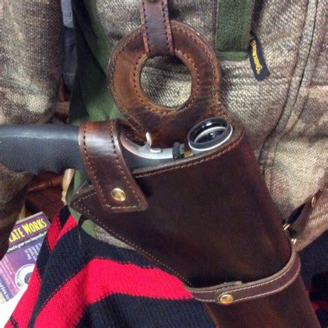 Scoped Revolver Hunting Holster