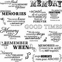 Guide to scrapbook titles & quotes!