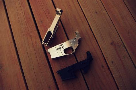 Scratched Up Lower Receiver Ar