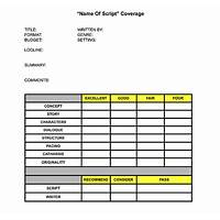 Script coverage ebook review