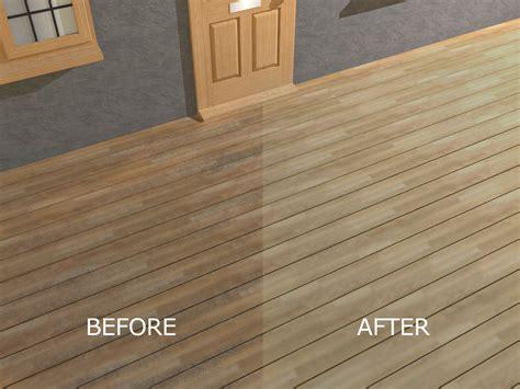 Sealing pressure treated wood deck Image