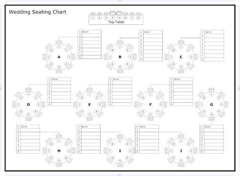 Seating Chart Template Wedding CV Templates Download Free CV Templates [optimizareseo.online]