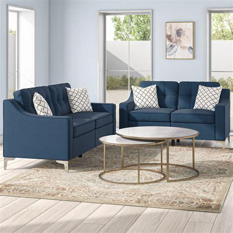 Sebastian 2 Piece Living Room Set