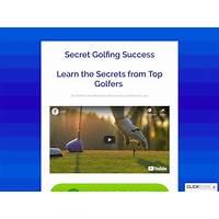 Secret golfing sucess coupon code