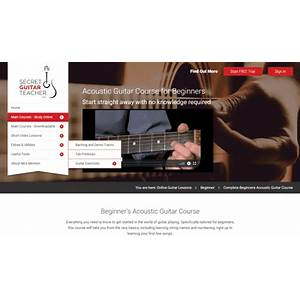 Secret guitar teacher :: high quality guitar lessons available as downloads or online courses coupon codes