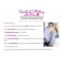 Secrets of flirting with men promotional code