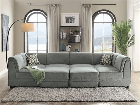 Sectional Sofas Gray