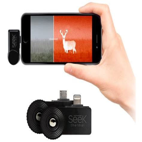 Seek Thermal Inc Compactxr Iphone Thermal Camera