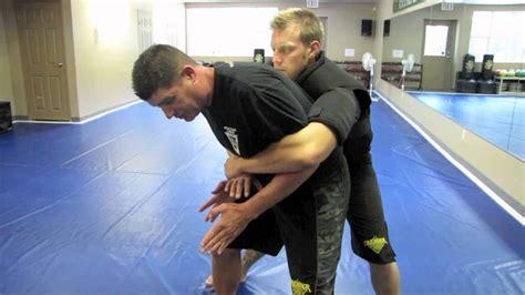 Self Defense Against Bear Hug