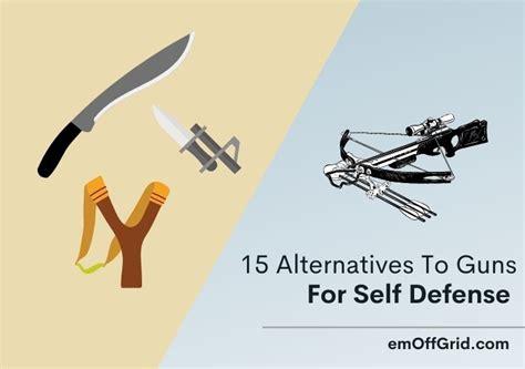 Self Defense Alternatives To Guns
