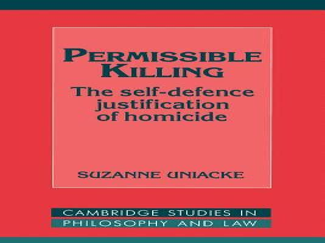 Self Defense Justification