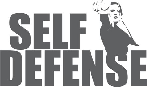 Self Defense Signs