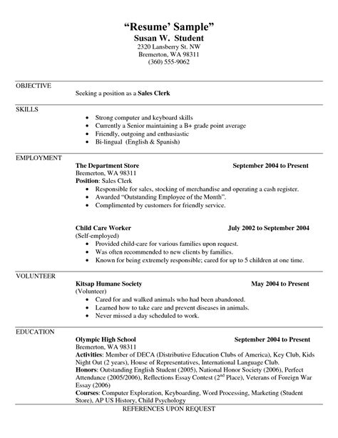 Resume Job Description For Business Owner Self Employment Examples How To List