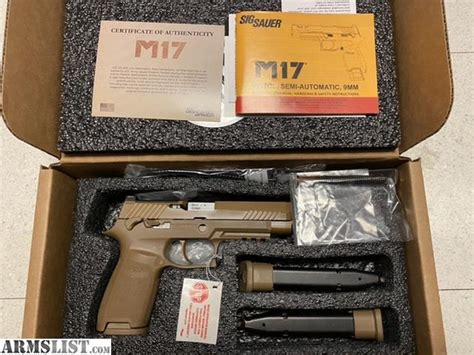 Seller Authentic Army Tested Used Sig Sauer M17 Price