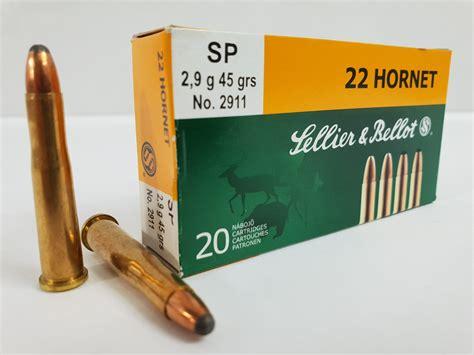 Sellier Bellot 22 Hornet 45gr Sp Ammo 22 Hornet 45gr Soft Point 20box