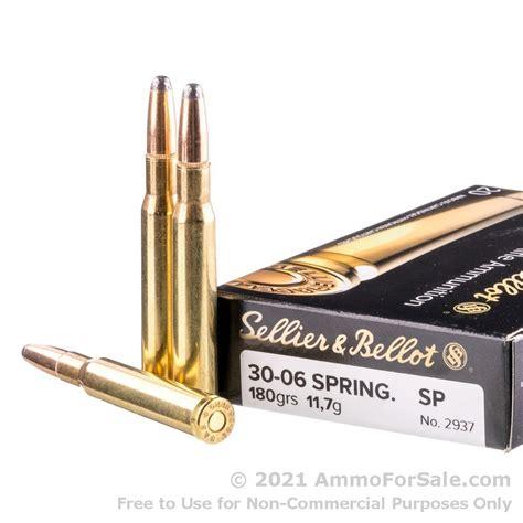 Sellier Bellot 3006 Springfield 180gr Sp Ammo 3006 Springfield 180gr Soft Point 20box
